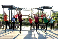 DOT - Outdoor Movement, Pre Sunset, Natural Light Behind Group, Riverwalk, Milwaukee